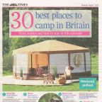 30 best places to camp in Britain - The Times