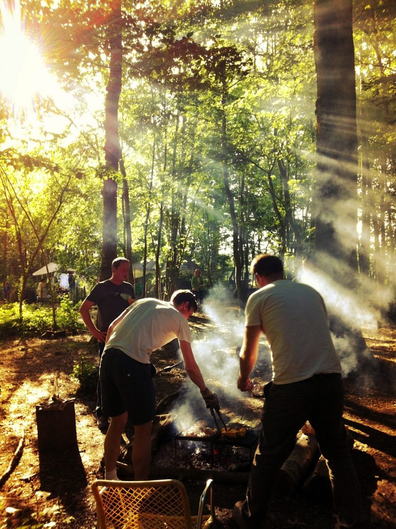 glamping breaks with campfires allowed