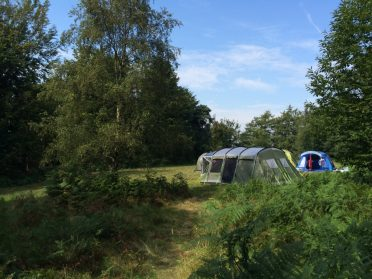 Group camping in Sussex