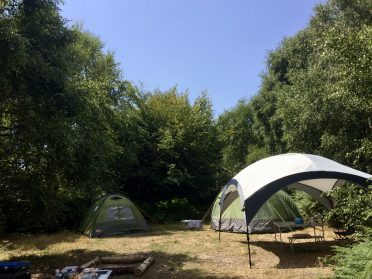 Group camping pitches sussex