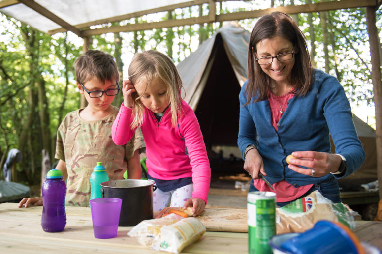 Easy camping recipes for families