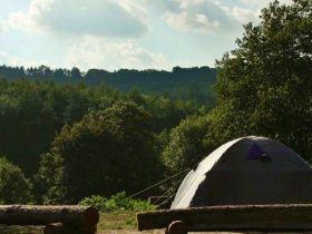 Sussex Camping - the campsite with views