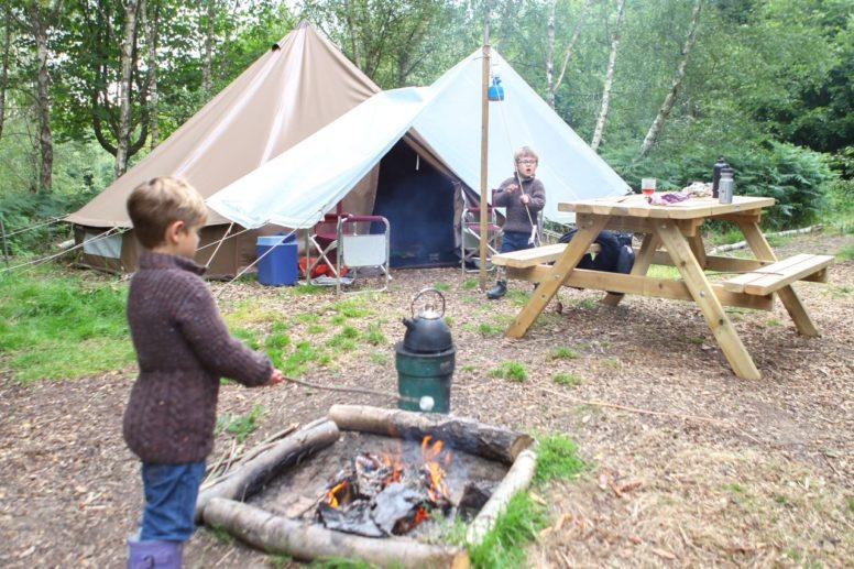 One of our best camping tips - don't forget the marshmallows!