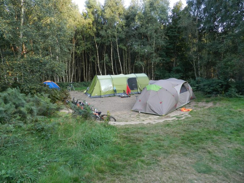 A well-pitched tent at The Secret Campsite Beech Estate - camping tips
