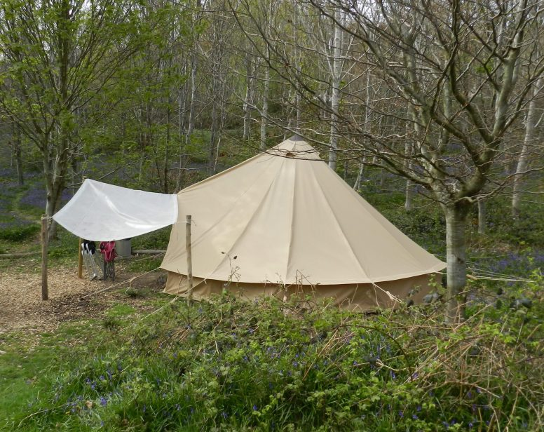How to Store a Bell Tent? | The Secret Campsite Beech Estate