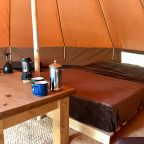 East Sussex glamping - Beech Estate campsite