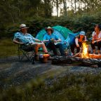 Group camping in Sussex, campfires allowed