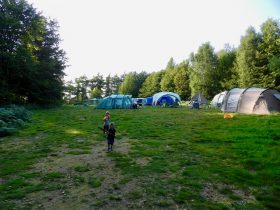 Group camping at The Secret Campsites
