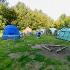 group campsite in Sussex
