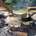 Campsites with fires in Sussex