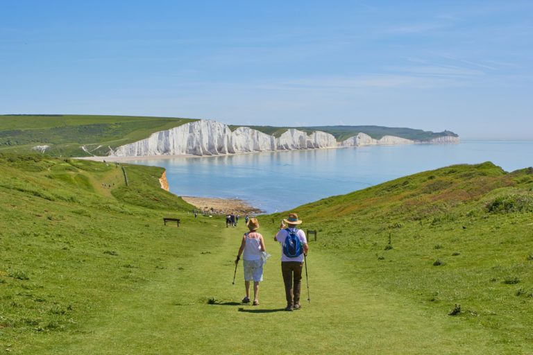 Country camping in Sussex