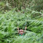 Beech Estate Campsite in East Sussex - Camping games for kids - hide and seek in the woods