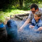 Family Eco Camping in Sussex