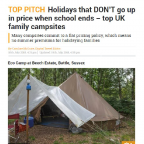 Top family campsite