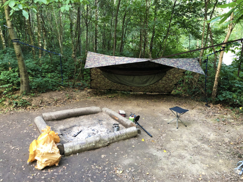 Nearly wild camping in Sussex