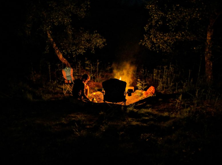 campfires and dark sky camping under the stars