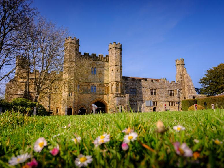 Battle Abbey - one of the closest attractions to our Sussex family camping site
