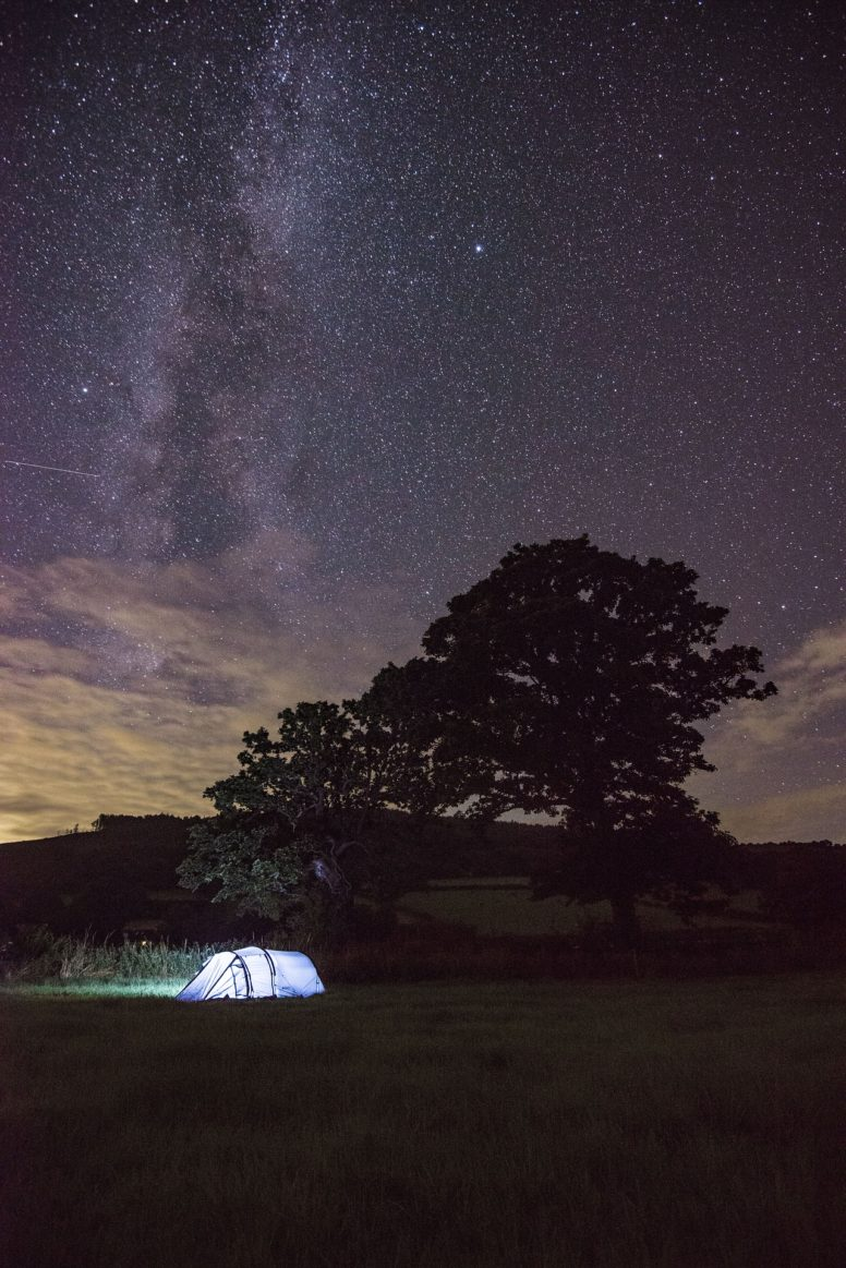 Camping under the stars | The Secret Campsite Beech Estate