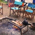 Campfire BBQ at Beech Estate Campsite