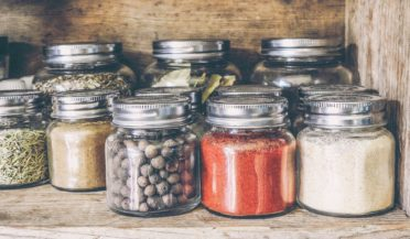 Reduce waste - refill jars