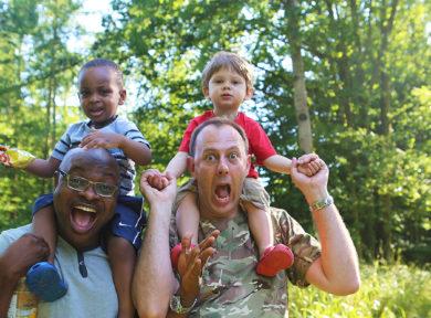 Cheap family holidays - camping