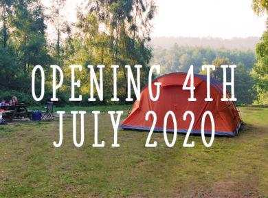 East Sussex Campsite opening