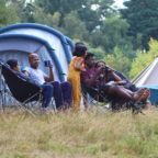 Family camping pitches in Sussex