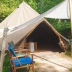 Best campsites in Sussex, glamping at Beech Estate Campsite
