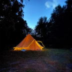Glamping in Sussex at Beech Estate Campsite