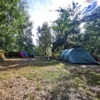 Group camping pitches in Sussex at Beech Estate Campsite
