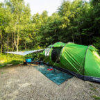 Tent pitch in Sussex Campsite
