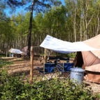 Group glamping in Sussex at Beech Estate Campsite