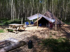 best campsite