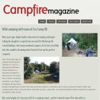 Sussex woodland camping - Campfire Magazine