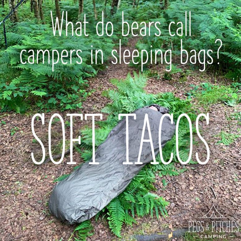 camping joke meme