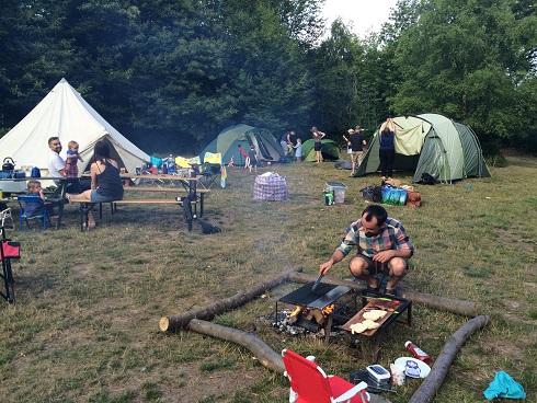 group campsites