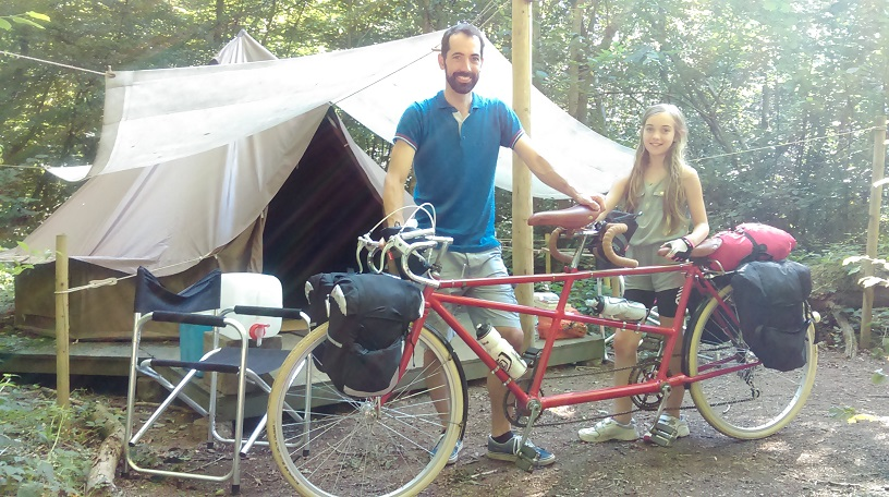 Camping for cyclists