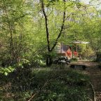 Bell tent glamping in Sussex