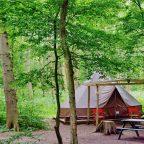 West Sussex campsite bell tent 2