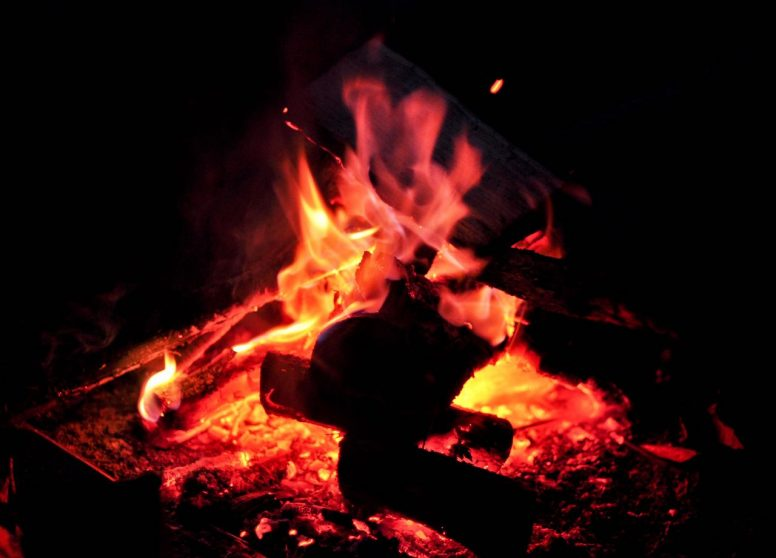 campfires allowed at Wild Boar Wood glamping site