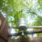 Bucket Shower at Wild Boar Wood Campsite