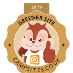 Eco friendly award winning campsite