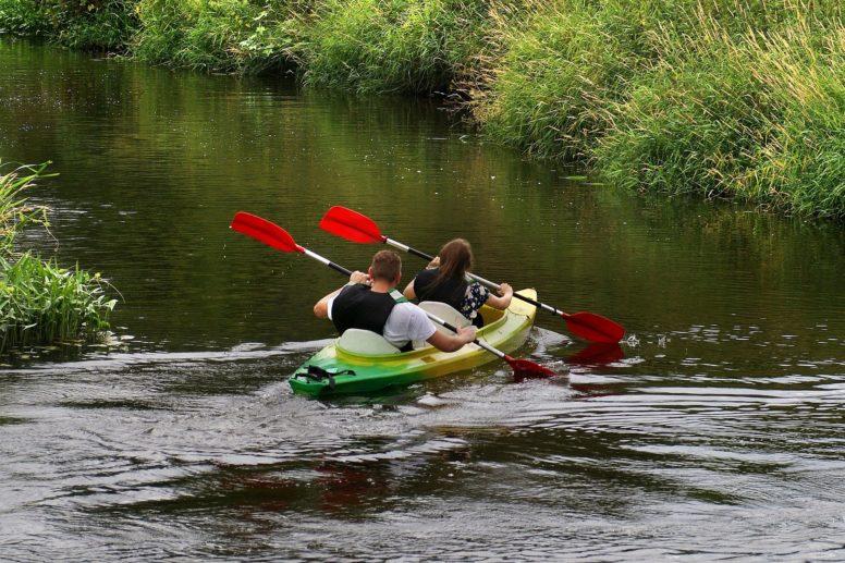Adventure weekend in Sussex - kayaking