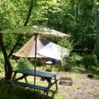 Glamping in Sussex Campsite