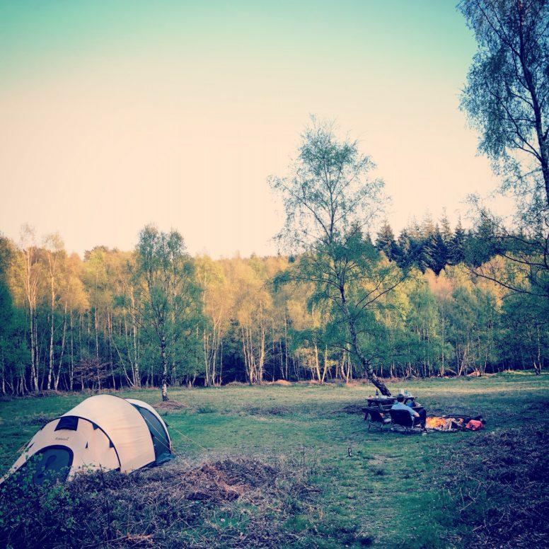 Camping and campfires